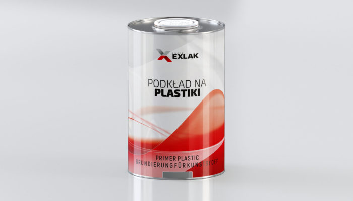 Exlak podkład na plastiki primer plastic 1L